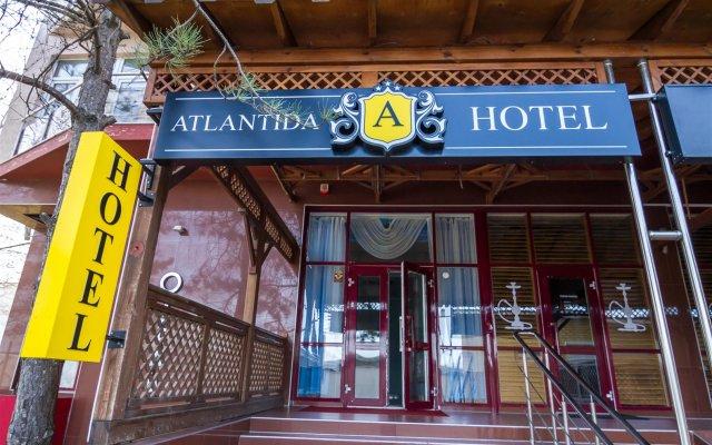 Гостиница Атлантида в Анапе 8 отзывов об отеле, цены и фото номеров - забронировать гостиницу Атлантида онлайн Анапа вид на фасад