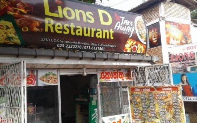 Hotel Lions Den & Lions D Restaurant вид на фасад