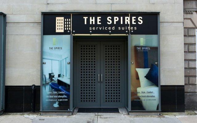 Отель The Spires Glasgow Великобритания, Глазго - отзывы, цены и фото номеров - забронировать отель The Spires Glasgow онлайн вид на фасад