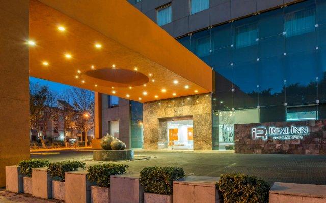 Отель Real Inn Guadalajara Expo вид на фасад