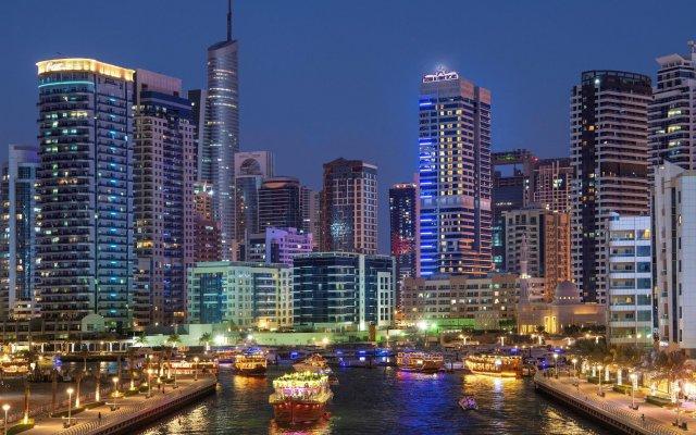 Отель Stella Di Mare Dubai Marina вид на фасад