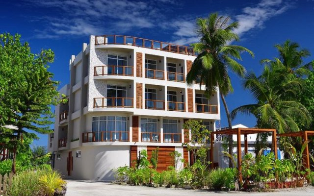 Отель Velana Blu Maldives вид на фасад