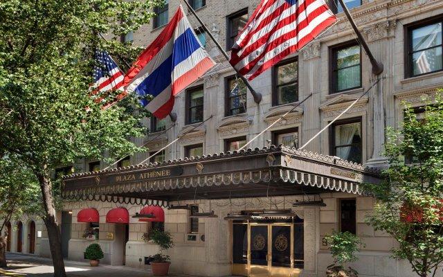 Отель Plaza Athenee США, Нью-Йорк - отзывы, цены и фото номеров - забронировать отель Plaza Athenee онлайн вид на фасад