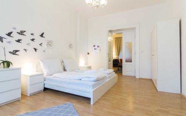 Отель Bright and Spacious by easyBNB Прага комната для гостей