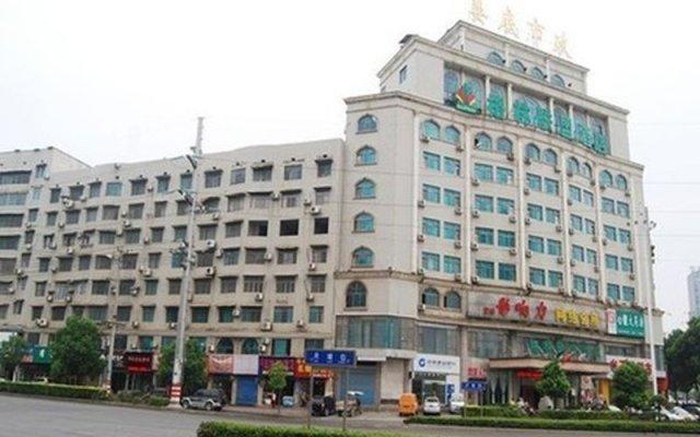 GreenTree Alliance JiangSu SuZhou Xihuan Road Sports Center Hotel вид на фасад