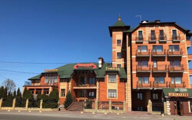 Гостиница Golden Lion Hotel Украина, Борисполь - отзывы, цены и фото номеров - забронировать гостиницу Golden Lion Hotel онлайн вид на фасад