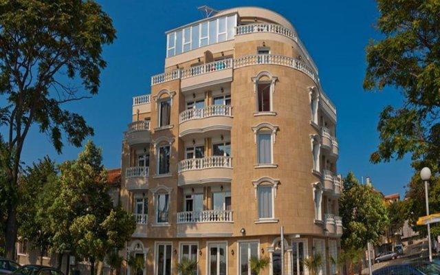 Отель Paros Болгария, Поморие - отзывы, цены и фото номеров - забронировать отель Paros онлайн вид на фасад