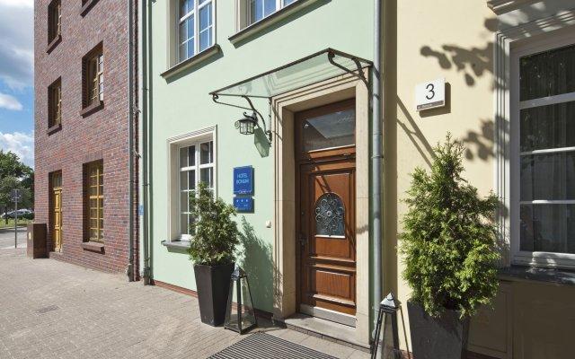 Отель Bonum Польша, Гданьск - 4 отзыва об отеле, цены и фото номеров - забронировать отель Bonum онлайн вид на фасад