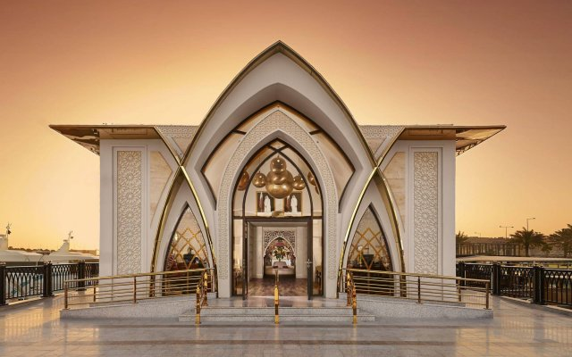 Отель Banana Island Resort Doha By Anantara вид на фасад