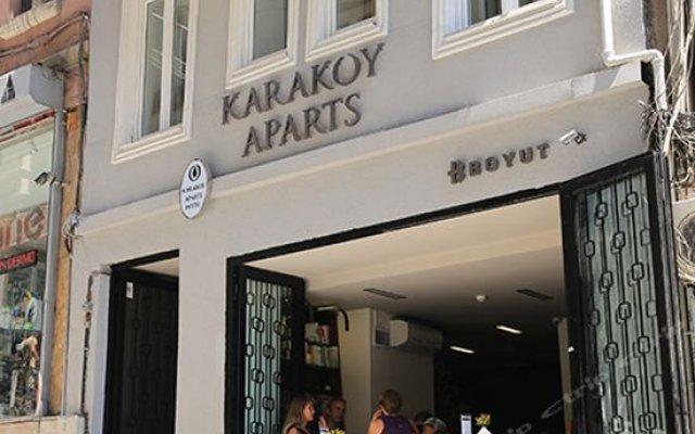 Отель Karakoy Aparts вид на фасад