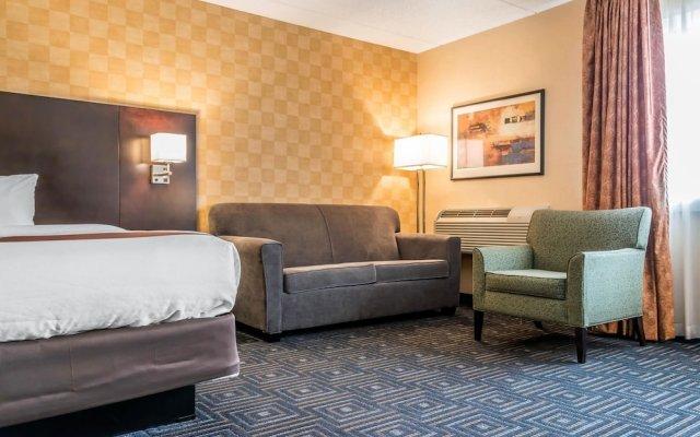 Отель Quality Inn & Suites Mall of America - MSP Airport США, Блумингтон - отзывы, цены и фото номеров - забронировать отель Quality Inn & Suites Mall of America - MSP Airport онлайн комната для гостей