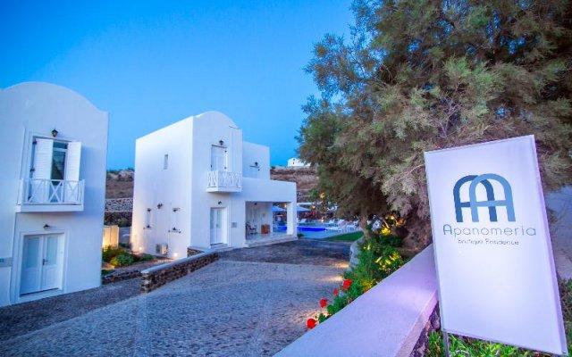 Отель Apanomeria Boutique Resident Греция, Остров Санторини - отзывы, цены и фото номеров - забронировать отель Apanomeria Boutique Resident онлайн вид на фасад