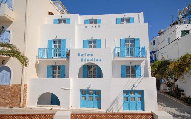 Отель Sofos Studios Fitness & Spa вид на фасад