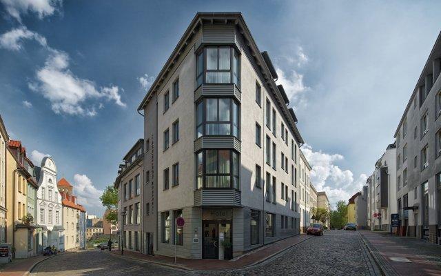 rostock apartment LIVING HOTEL вид на фасад