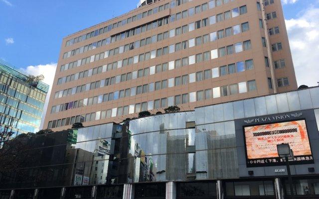 Отель Clio Court Hakata Хаката вид на фасад