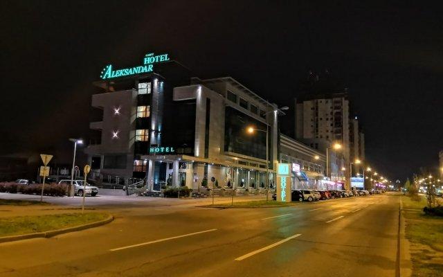 Отель ALEXANDAR Нови Сад вид на фасад