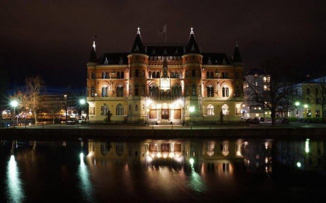 Отель Clarion Collection Hotel Borgen Швеция, Эребру - отзывы, цены и фото номеров - забронировать отель Clarion Collection Hotel Borgen онлайн вид на фасад