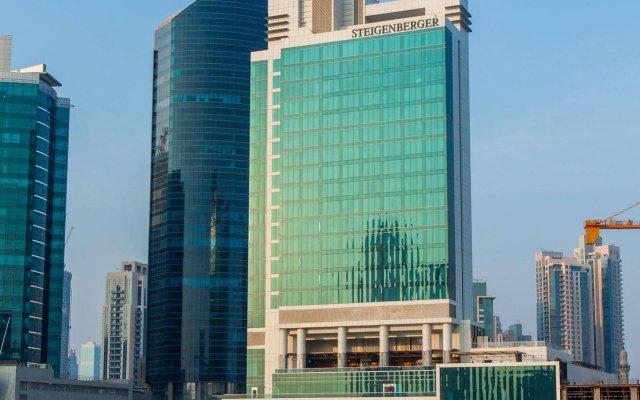 Steigenberger Hotel Business Bay, Dubai вид на фасад
