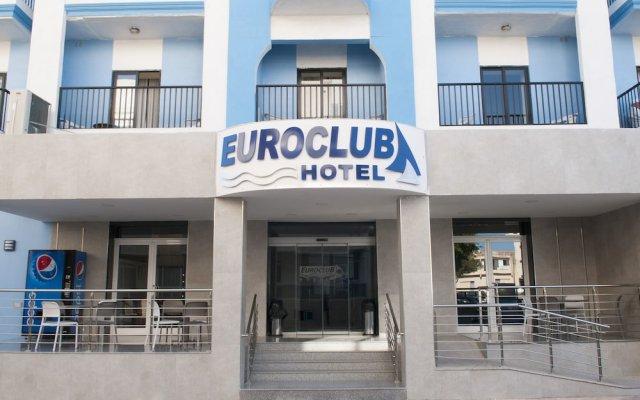 Отель Euro Club Hotel Мальта, Каура - отзывы, цены и фото номеров - забронировать отель Euro Club Hotel онлайн вид на фасад