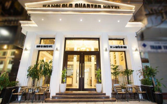 Hanoi Old Quarter Hotel вид на фасад