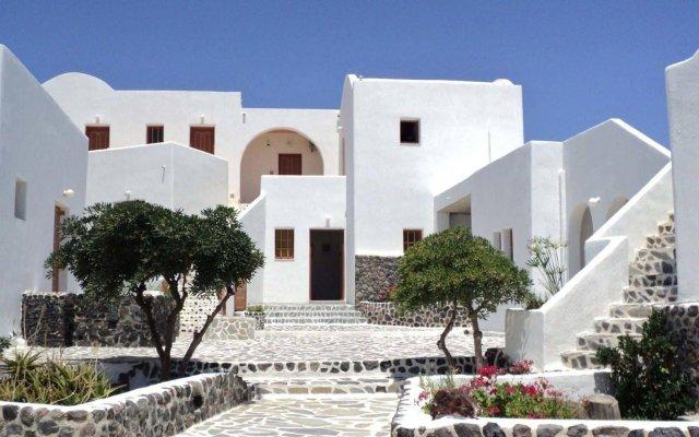 Adamastos Hotel вид на фасад