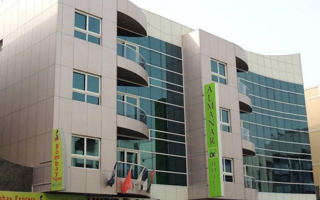 Отель Al Manar Hotel Apartments ОАЭ, Дубай - отзывы, цены и фото номеров - забронировать отель Al Manar Hotel Apartments онлайн вид на фасад