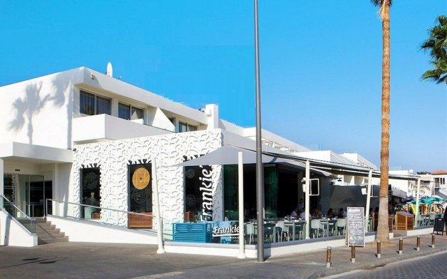 Апартаменты Melpo Antia Luxury Apartments & Suites вид на фасад