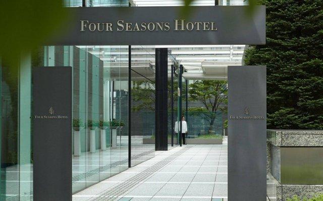 Four Seasons Hotel Tokyo at Marunouchi вид на фасад