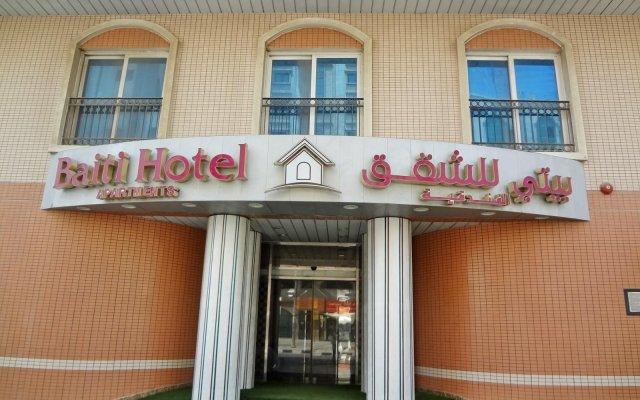Baiti Hotel Apartments вид на фасад