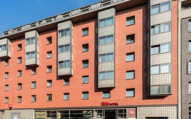 Отель Ibis Amsterdam City Stopera Нидерланды, Амстердам - отзывы, цены и фото номеров - забронировать отель Ibis Amsterdam City Stopera онлайн вид на фасад