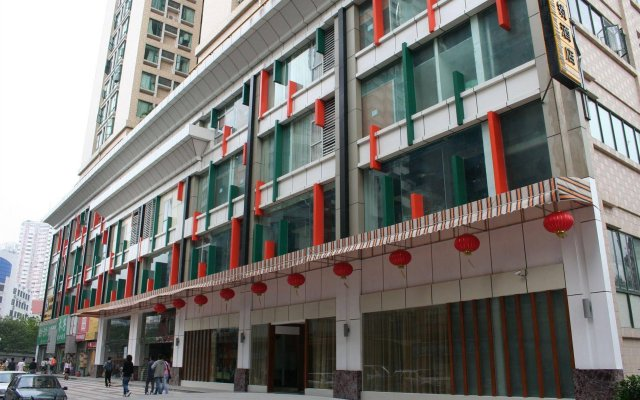 Отель Gangding Garden Inn вид на фасад