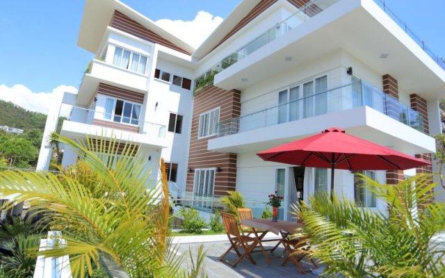 Апартаменты Ruby Luxury Apartments вид на фасад