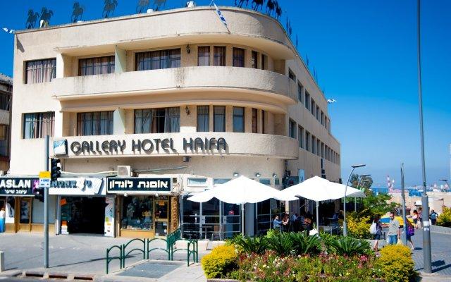 Отель Satori Haifa Хайфа вид на фасад