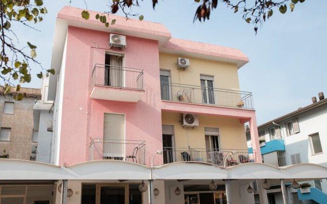 Отель Shaka Италия, Римини - отзывы, цены и фото номеров - забронировать отель Shaka онлайн вид на фасад