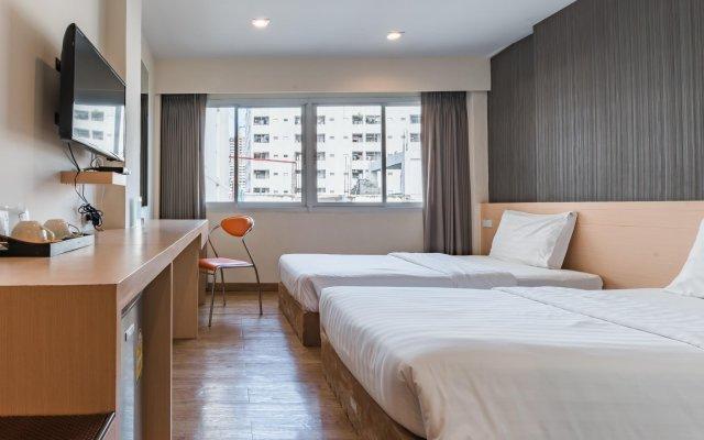 Отель S3 Residence Park Таиланд, Бангкок - 1 отзыв об отеле, цены и фото номеров - забронировать отель S3 Residence Park онлайн комната для гостей