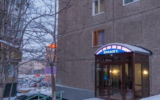 Смарт Бизнес Отель Мурманск вид на фасад