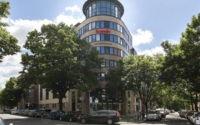 Отель Scandic Berlin Kurfürstendamm Германия, Берлин - 4 отзыва об отеле, цены и фото номеров - забронировать отель Scandic Berlin Kurfürstendamm онлайн вид на фасад