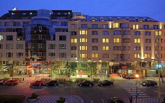 Prague Marriott Hotel вид на фасад