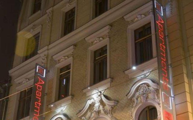 Отель Aparthotel Pergamin вид на фасад