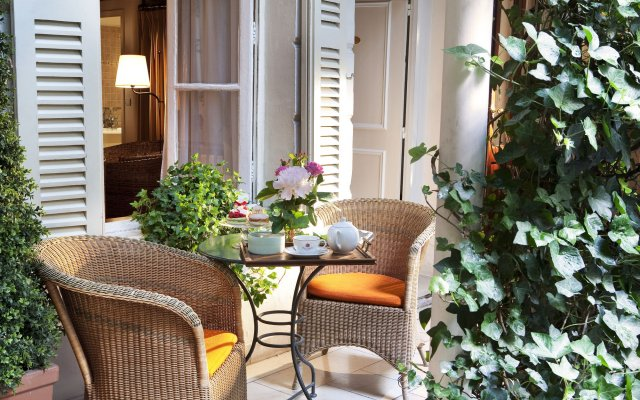 Hotel D'angleterre Saint Germain Des Pres Париж вид на фасад