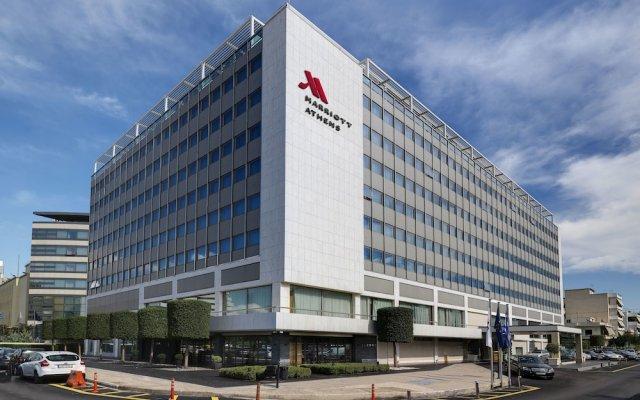 Отель Athens Marriott Hotel Греция, Афины - 3 отзыва об отеле, цены и фото номеров - забронировать отель Athens Marriott Hotel онлайн вид на фасад