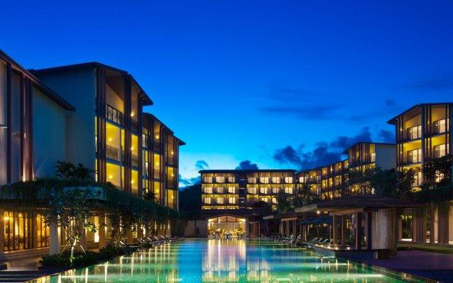 Отель Dusit Princess Moonrise Beach Resort вид на фасад