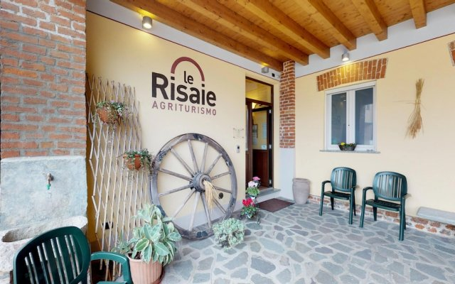 Отель Agriturismo Le Risaie Базильо вид на фасад