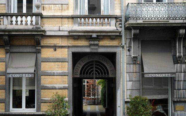 Отель Du Congress Брюссель вид на фасад