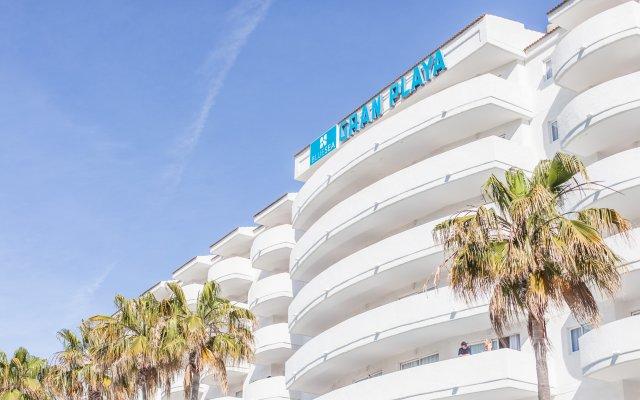 Отель Aparthotel Blue Sea Gran Playa вид на фасад