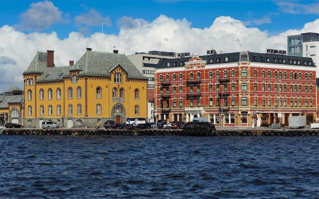 Отель Victoria Hotel Норвегия, Ставангер - отзывы, цены и фото номеров - забронировать отель Victoria Hotel онлайн вид на фасад
