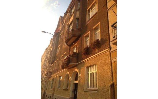 Апартаменты Apartments Letna Прага вид на фасад