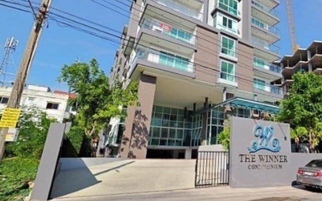 Отель The Winner Condo - 703 By Axiom Паттайя вид на фасад