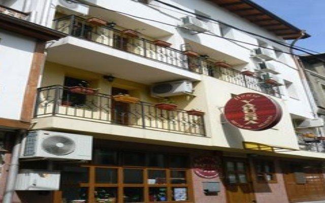 Hotel Varusha Велико Тырново вид на фасад