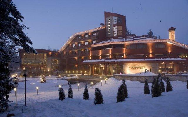 Отель Yastrebets Wellness & Spa Боровец вид на фасад